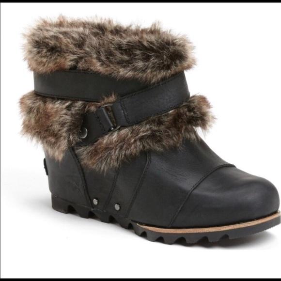Sorel Joan Of Arctic Wedge W Fur 85